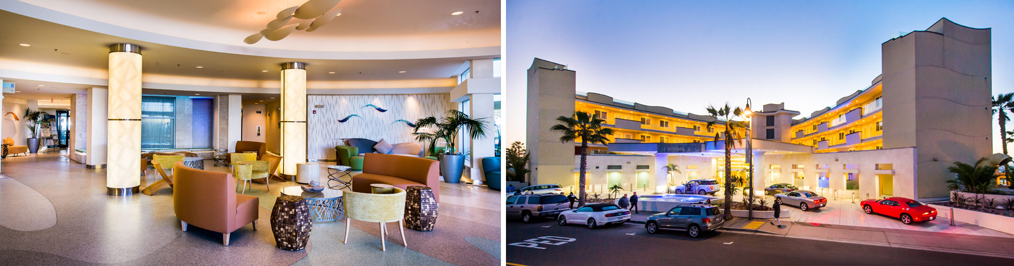 photo of wedding and event hotel for san diego beach weddings and events